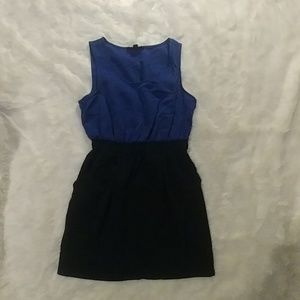 Short Black/Blue Dress